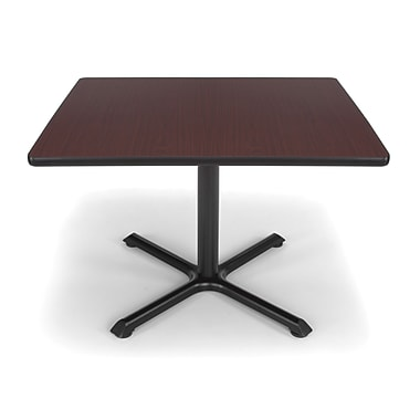OFM X-Series 36in. Multi-Purpose Table, Mahogany