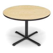 OFM X-Series 42 Round Multi-Purpose Table, Oak
