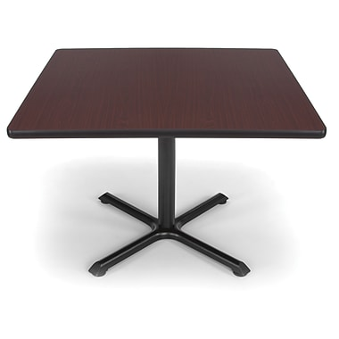 OFM X-Series 42in. Multi-Purpose Table, Mahogany