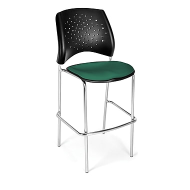 OFM Star Series Fabric Cafe Height Chairs