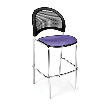 OFM Moon Series Fabric Cafe Height Chair, Lavender