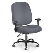 OFM Fabric Big And Tall Task Chair, Gray
