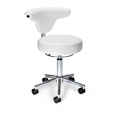 OFM Anti-Microbial Vinyl Anatomy Chair, White