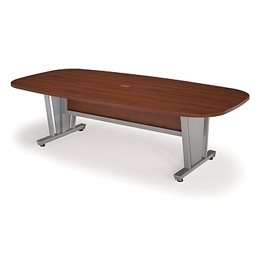 OFM 48in. W x 96in. L Conference Table, Cherry
