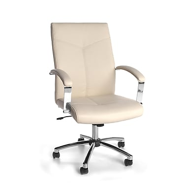 OFM Fabric Confernece Chair, White