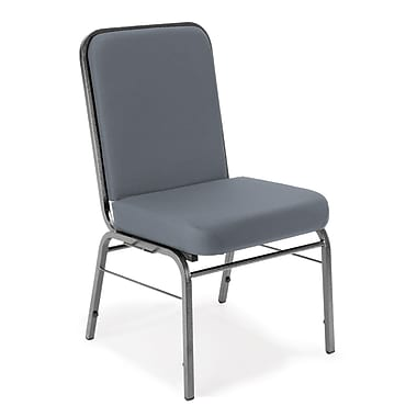 OFM Comfort Class Series Fabric Stack Chair, Gray