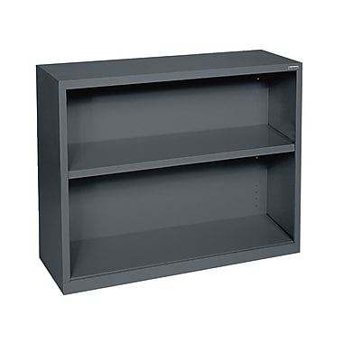 Sandusky® Elite 30in.H x 34 1/2in.W x 13in.D Steel Fully Adjustable Bookcase, Charcoal