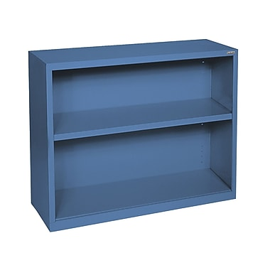Sandusky® Elite 30in.H x 34 1/2in.W x 13in.D Steel Fully Adjustable Bookcase, Blue