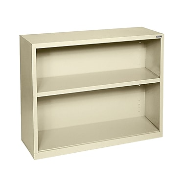 Sandusky® Elite 30in.H x 34 1/2in.W x 13in.D Steel Fully Adjustable Bookcase, Putty