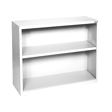Sandusky® Elite 30in.H x 34 1/2in.W x 13in.D Steel Fully Adjustable Bookcase, Standard White