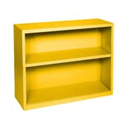 Sandusky® Elite 30in.H x 36in.W x 18in.D Steel Fully Adjustable Bookcase, Yellow