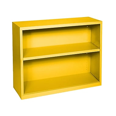 Sandusky® Elite 30in.H x 34 1/2in.W x 13in.D Steel Fully Adjustable Bookcase, Yellow