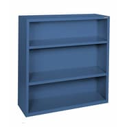 Sandusky® Elite 42in.H x 36in.W x 18in.D Steel Fully Adjustable Bookcase, Blue