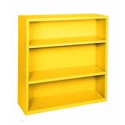 "Sandusky® Elite 42""H x 34 1/2""W x 13""D Steel Fully Adjustable Bookcase, Yellow"