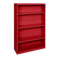 Sandusky® Elite 52in.H x 34in.W x 12in.D Steel Fully Adjustable Bookcases