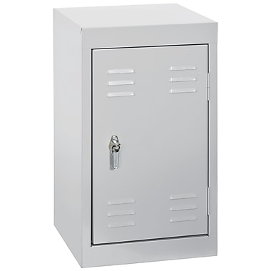 Sandusky® 24in.H x 15in.W x 15in.D Steel Single Tier Mini Locker, Dove Gray