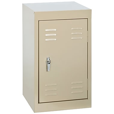 Sandusky® 24in.H x 15in.W x 15in.D Steel Single Tier Mini Locker, Putty