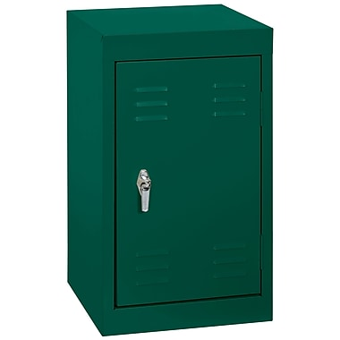 Sandusky® 24in.H x 15in.W x 15in.D Steel Single Tier Mini Locker, Forest Green