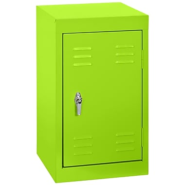 Sandusky® 24in.H x 15in.W x 15in.D Steel Single Tier Mini Locker, Electric Green
