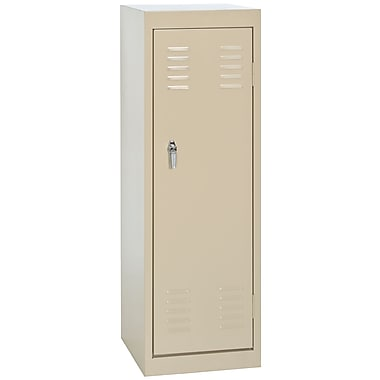 Sandusky® 48in.H x 15in.W x 15in.D Steel Single Tier Locker, Putty