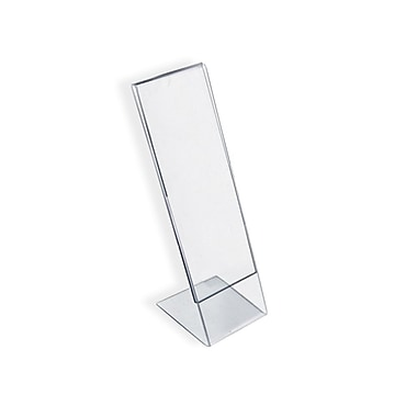 7in. x 2in. L-Shape Acrylic Acrylic Sign Holder