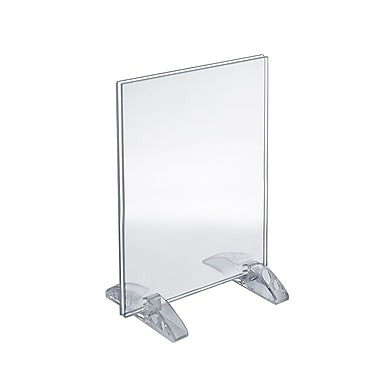 11in. x 8 1/2in. Vertical/Horizontal Dual-Stand Acrylic Sign Holder