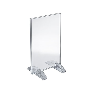 11in. x 7in. Vertical/Horizontal Dual-Stand Acrylic Sign Holder