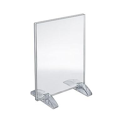 Azar Acrylic Vertical/Horizontal Dual-Stand Sign Holder , 7