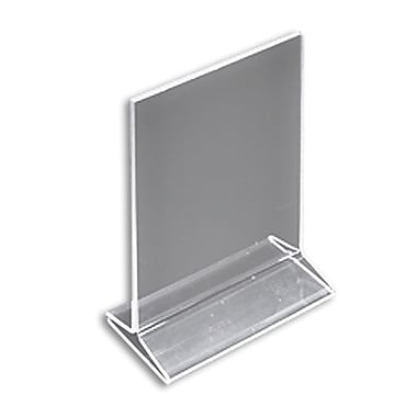 8 1/2in. x 5 1/2in. Vertical Top Load Acrylic Acrylic Sign Holder