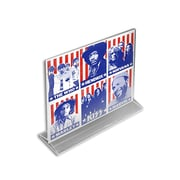 8 1/2 x 11 Vertical Top Load Acrylic Sign Holder, Clear