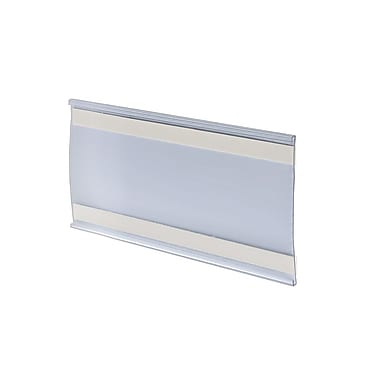 Azar Acrylic C-Channel Nameplate with Adhesive Back, 4
