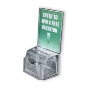 Azar Plastic Medium Molded Suggestion Box with Pocket (206007)