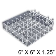 Azar Displays 36 Compartment Lipstick Tray For Pegboard or Slatwall