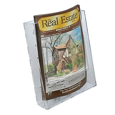 Single Pocket Bi-Fold Size Modular Brochure Holder For Counter, 10/Pack
