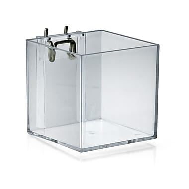 Cube Bin Brochure Holder Cube, 4in.