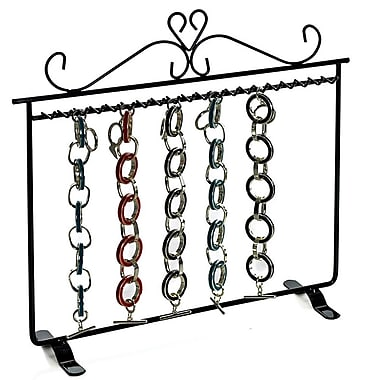 Azar® Hanging Bracelet Display, Black