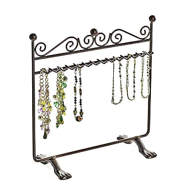 Azar® Hanging Bracelet Display, Bronze