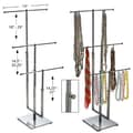 3 Pole Necklace Display, Chrome