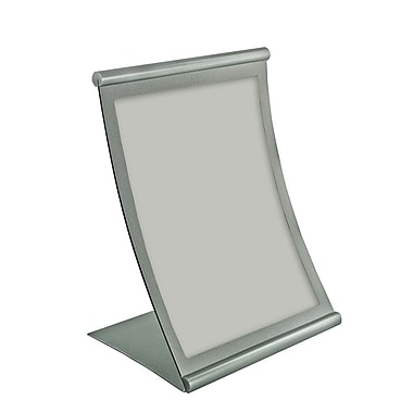 11in. x 8 1/2in. Curved Counter Metal Sign Holder