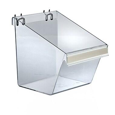 Azar® Large Display Bucket For Slatwall/Pegboard