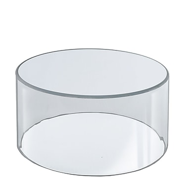 Azar Displays Clear Acrylic Cylinder, 10
