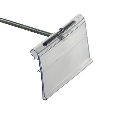 Azar Displays Flip Scan Label Holder, 1 1/2