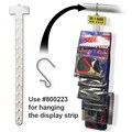 24 3/4in. x 1 1/8in. 12 Station Display Strip, 50/Pack