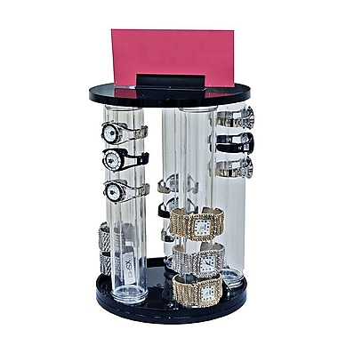 12in.(H) x 2in.(Dia) 5 Pole Revolving Vertical Counter Display
