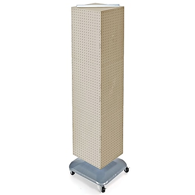 4-Sided Interlocking Pegboard Floor Displays, 60