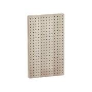 "Azar Displays 22""(H) x 13 1/2""(W) Pegboard 1-Sided Wall Panel, Solid Almond"