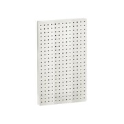 22(H) x 13 1/2(W) Pegboard 1-Sided Wall Panel, Solid White