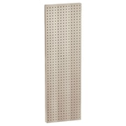 "Azar Displays 44""(H) x 13 1/2""(W) Pegboard 1-Sided Wall Panel, Solid Almond"