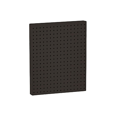 20in.(H) x 16in.(W) Pegboard 1-Sided Wall Panel, Solid Black