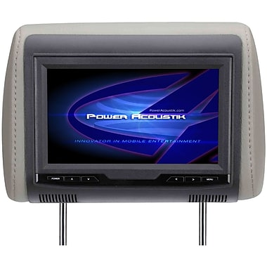 Power Acoustik H-70CC Universal Headrest With 9in. Widescreen